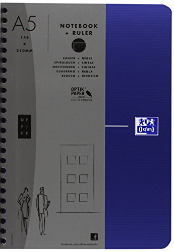 Oxford Office Essential 100102938 Bloques Entorchados, Colores Surtidos