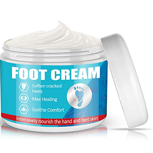 Foot Cream, Foot Repair Foot Cream for Dry Cracked Feet- Hydrates, Softens & Conditions Dry Cracked Feet, Heel and Calluses