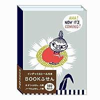 【カミオジャパン】BOOK付箋/ムーミン_リトルミイ 24023