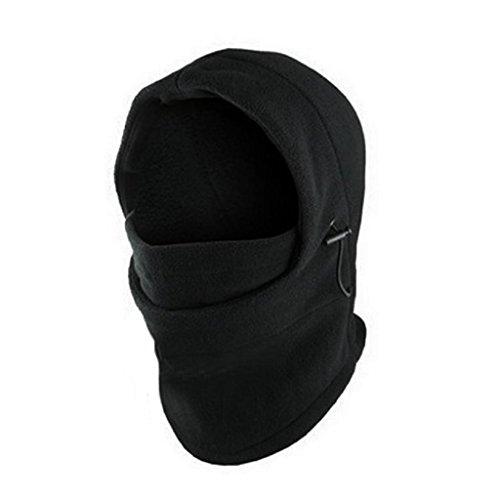 VJGOAL Damen Caps, Herren Mode 6 in 1 Hals Balaclava Gesicht Hut Fleece Hood Ski Maske Winter warme Helm Weihnachten Geburtstag Geschenke