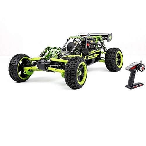 LOSA 2WD RC Buggy Gasolina, 1/5 de Coches de Juguete de Gas Off Road con Motor de Gasolina 36cc para el Adulto, 2.4G regulador de Radio Incluyó,Verde