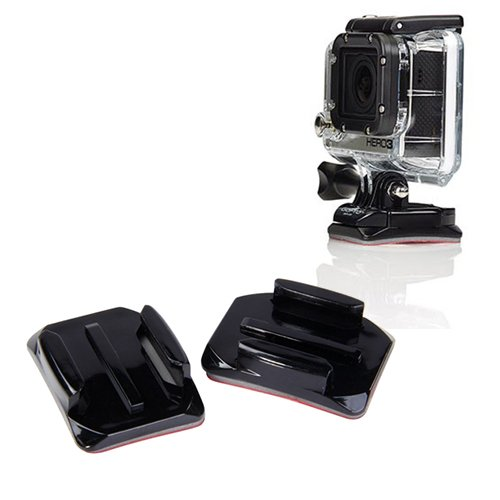 Donkeyphone - Pack 2X Soporte Curvo con Adhesivo Pegatina 3M para ...