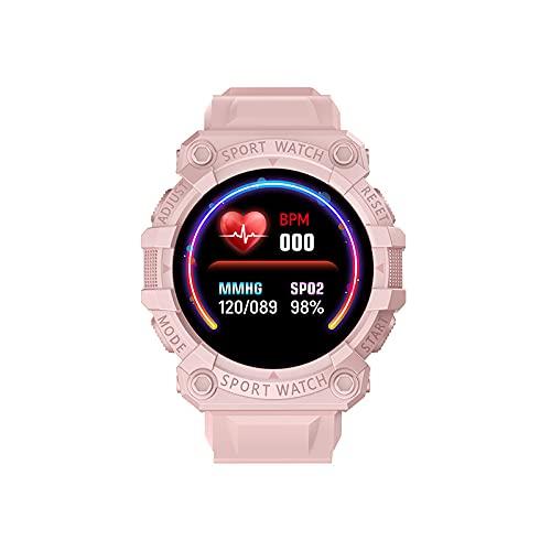 Reloj Inteligente FD68S para Hombres Y Mujeres Contador de Calorías del Podómetro del Monitor del Ritmo Cardíaco Reloj Deportivo Bluetooth Impermeable IP67 con Pantalla HD de 1 44