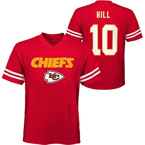Tyreek Hill Kansas City Chiefs #10 Kids 4-12 Player Name & Number Chase Jersey Red (Kids Medium 7/8)