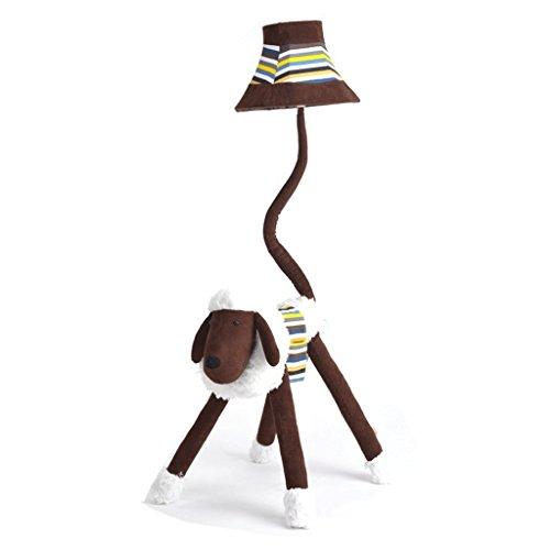 Good thing Lampadaire Agneau de dessin animé pour enfants Lampe de sol jolie Lumière de personnalité créative Luminaire de chambre à poser Bureau Étude Salle de séjour Lampe de table verticale