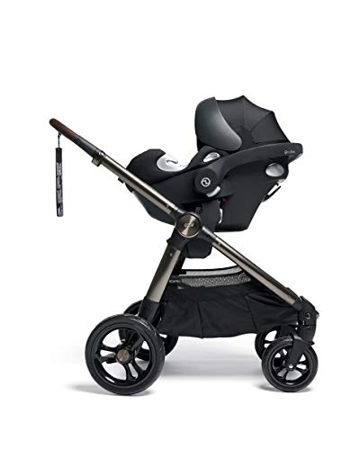 Mamas & Papas Ocarro All Terrain Puschair, Buggy, Pram, One Hand Fold, Puncture-Proof Tyres, Extendable Hood & Adjustable Lie Flat Seat - Iconic, 16.15 kg Mamas & Papas Robust support: dual suspension for all-terrains Ultimate comfort: large, padded seat One-hand fold: quick, easy and compact 6