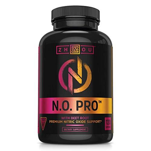 Zhou Nutrition Nitric Oxide Supplement with L Arginine