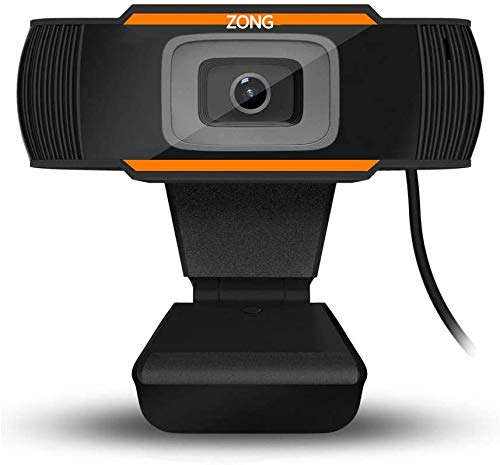 HD Webcam 1080p Streaming Web Camera with Dual Microphones, Webcam for Gaming Conferencing & Working, Laptop or Desktop Webcam, USB Computer Camera for Mac Xbox YouTube Skype OBS, Free-Driver Installa