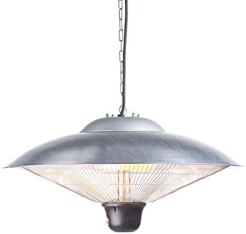Semptec Deckenheizstrahler: IR-Decken-Heizstrahler mit LED-Licht, Fernbedienung, bis 2.000 W, IP34 (Infrarotheizstrahler) - 3