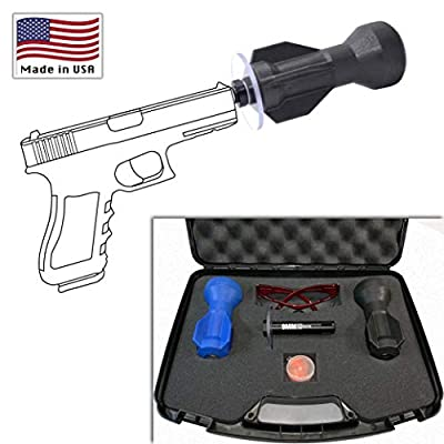 WASP Personal Defense Weapon Accessory |Made in USA| High Impact Handgun Attachment | Self Defense System | Less-Lethal Weapon| Non-Lethal Emergency Protection | Universal 9mm Pistol Conversion Kit