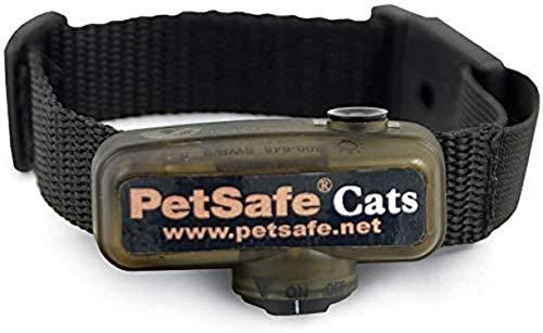 PetSafe - Collier Anti-Fugue pour Chat Supplémentaire pour Clôture Anti-Fugue avec Fil - 4 niveaux de Stimulation – Léger, Ajustable et Anti-étranglement – à pile