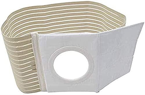 Cinturón de ostomía Reutilizable Estoma Transpirable Vendaje portátil Portátil Fácil Limpieza de la colostomía (Ajuste 3.14') Stoma Soporte Hernia INCONSIO para DEFORTAR (Size : Large)