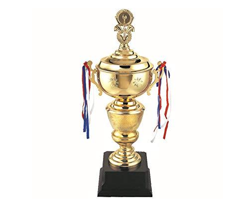 X-Trophy Trofeo de la Copa, Deportes Fútbol Trofeo de Oro, Manualidades Decoración Imprimible Personalizada Gratis (68Cm)