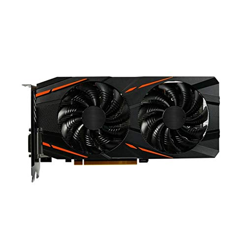 AFSDF Enfriador De Líquido Fit For Gigabyte RX 570 4GB Tarjeta Gráfica AMD Gaming Video Screen Cards 500 GPU Desktop PC Computer Game Map Videocard Refrigerador Líquido