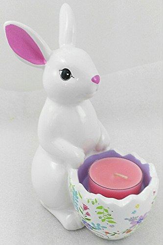 1a PartyLite - Teelichthalter HOPPITY - P93001 - H: 15cm - Keramik