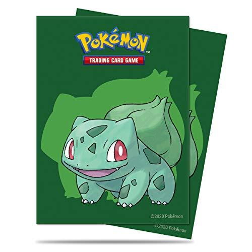 Ultra Pro Lot de 65 Pochettes de Protection pour Cartes Pokémon Bulbizarre, E-15536
