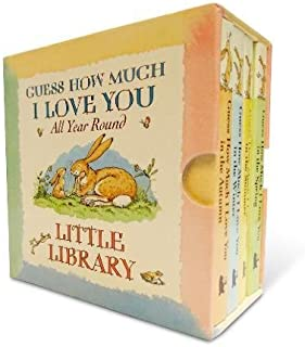 Guess How Much I Love You Little Library 4 Books for Little Hands