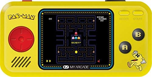 My Arcade Pocket Player Handheld Game Console 3 Built In Games Pac Man Pac Panic Pac Mania Collectible product image