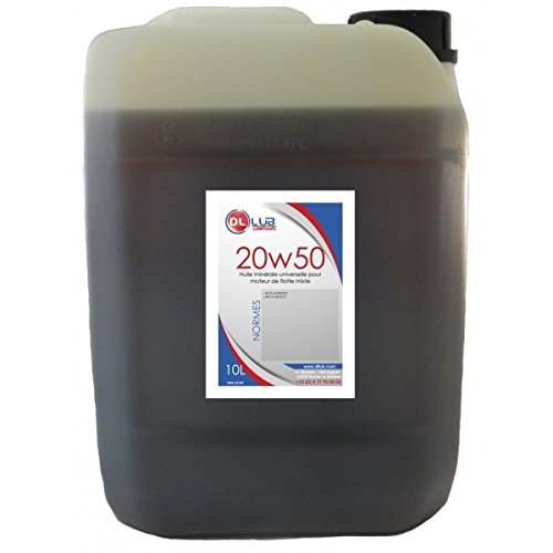DLLUB - HUILE MINERALE SAE 20W50-10 litres