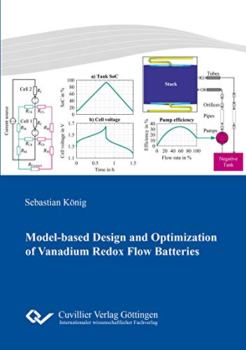 Model-based Design and Optimization of Vanadium Redox Flow Batteries (English Edition)
