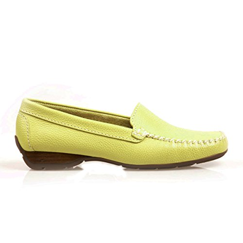 Van Dal Sanson, Damen Mokassins, Yellow (Citron), Gr. 40 EU (6.5 UK)