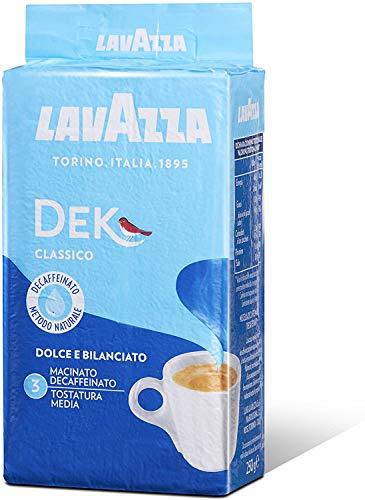Lavazza Caffe Decaffeinato Ground Coffee 250G