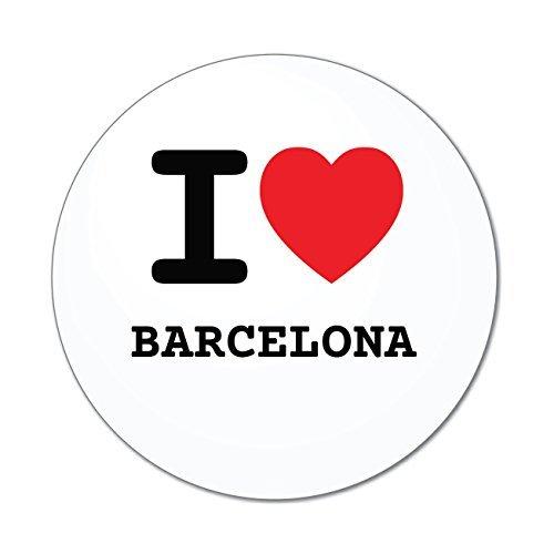 JOllify Aufkleber - Barcelona – Farbe: Design: I Love - Ich Liebe