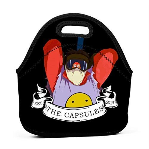 The Capsules Vs Clowns Riutilizzabile Lunch Tote Bag Scatola pranzo picnic impermeabile