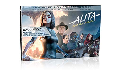 Alita: Battle Angel Limited Edition Collector's Set [Blu-ray]