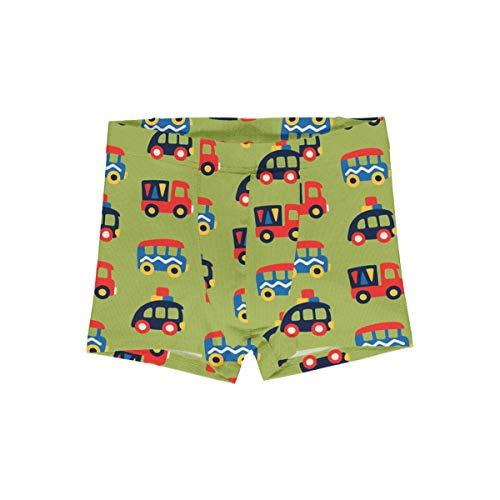 maxomorra Jungen Boxershorts/Unterhose mit Autos 122/128