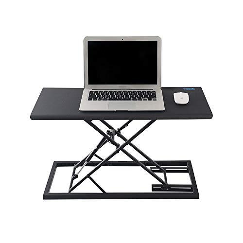 ZZHF Schreibtisch, Stehtisch, Computertisch, faltbarer Laptop-Schreibtisch, ergonomische Werkbank-Schreibtische (Farbe: C)