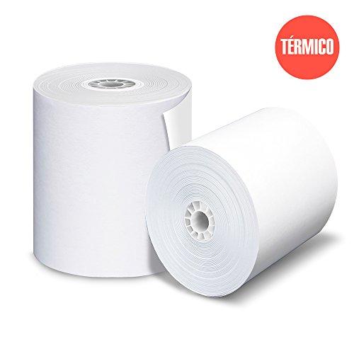 Papel Térmico 60x80  marca PRINTECK