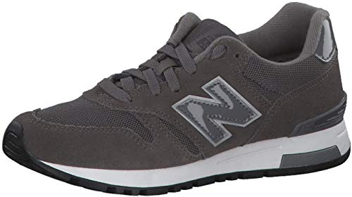 New Balance WL565-B Sneaker Damen grau/weiß, 9.5 US - 41 EU - 7.5 UK