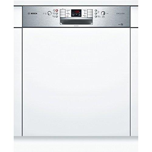 Bosch smi86p75de Semi integrierter 14places A + + + Spülmaschine–Geschirrspülmaschinen (Semi Integriert, Full Size (60cm), Edelstahl, Knöpfe, 1,75m, 1,65m)