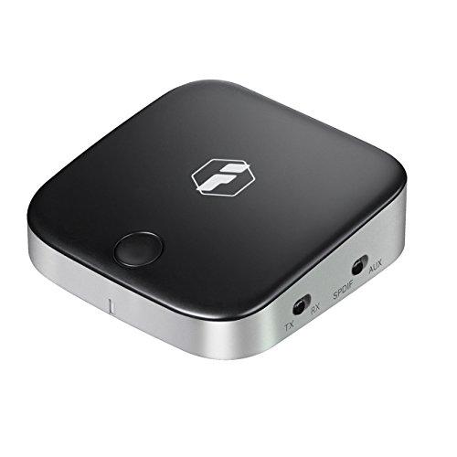 Inateck aptX Low Latency Bluetooth 4.1 Transmitter und Empfänger, Optisch-digitales TOSLINK, 3,5 mm AUX und RCA Kabel für TV,HiFi Anlage