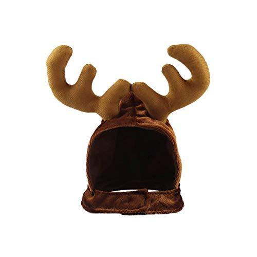 fiejns-zjy Weihnachtsschmuck Ausverkauf, Weihnachten Haustier Hund Katze Mütze Hirschgeweih Festival Weihnachtsfeier Urlaub Kopfbedeckungen Hut