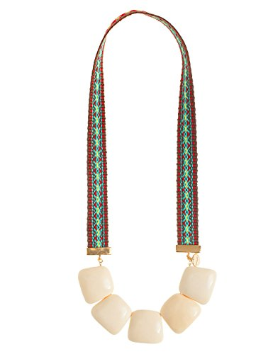 Desigual - Collar de acero inoxidable (49.5 cm)