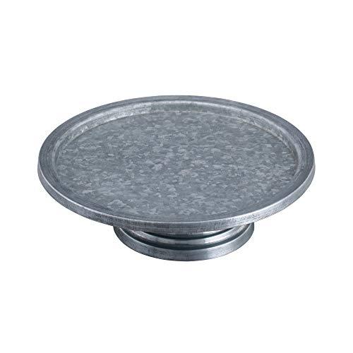 Benzara 49189 Functional Metal Cake Stand