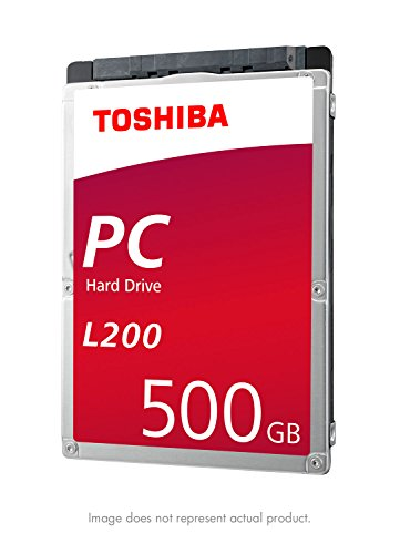 Toshiba L200 500GB Mobile 2.5 Inch SATA 5400rpm Internal Hard Drive
