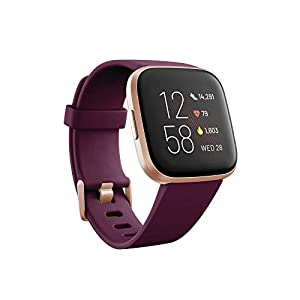 Fitbit Versa 2 - Smartwatch de salud y forma física, Burdeos, con Alexa integrada 3