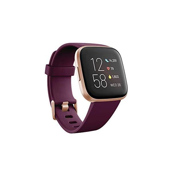 Fitbit Versa 2, Smartwatch con control por voz, puntuación del sueño y música, batería de +4 días 1