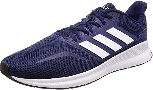 adidas Herren Runfalcon Laufschuhe, Blau (Dark Blue/Footwear White/Core Black 0), 44 2/3 EU