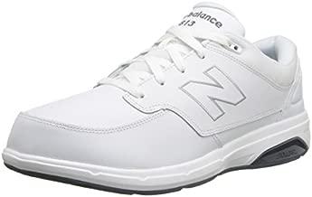 New Balance Men's 813 V1 Lace-Up Walking Shoe, White/White, 13 XW US