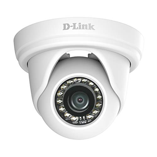 D-Link DCS-4802E IP security camera Indoor & outdoor Dome White security camera - security cameras (IP security camera, Indoor & outdoor, Dome, White, Ceiling/wall, IP66)