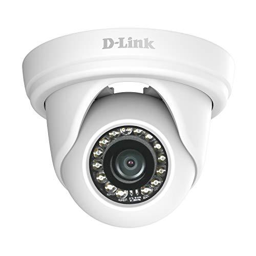 D-Link DCS-4802E - Cámara de vigilancia (IP, dome, alámbrico, interior y exterior) color blanco