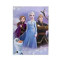 アナと雪の女王 Frozen 500ピースのジグソーパズル、どの年齢にも適しています、高齢者子供若者、個々のテーマ、パズル リラックスしてストレスを解放する ジグソーパズル 38x52cm。