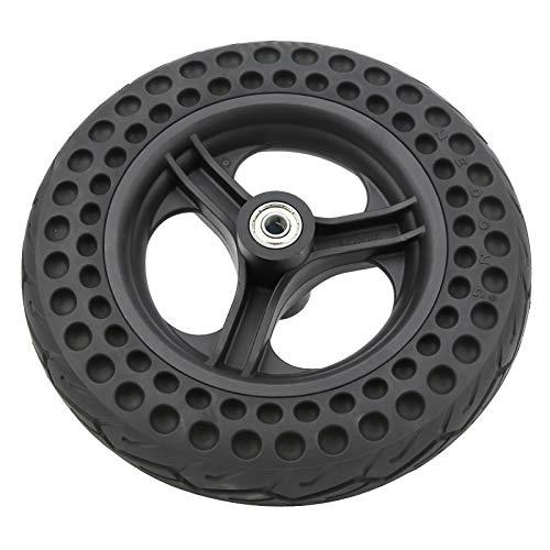 DAUERHAFT Neumáticos Traseros de Goma Flexible para neumáticos Traseros Neumático de Goma antiexplosión, para Scooter eléctrico