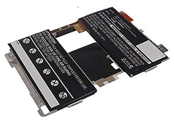 Synergy Digital Tablet Battery Works with BlackBerry Playbook 64GB Tablet  Li-Pol 3.7V 5400mAh  Compatible with BlackBerry 1ICP4/58/116-2 916TA029H 921600001 SQU-1001 Battery