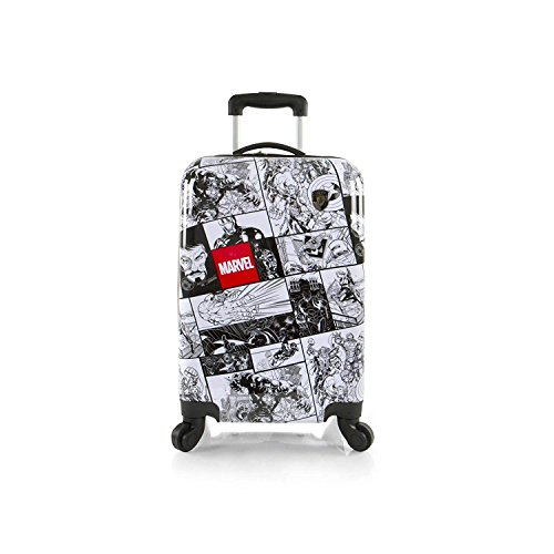 Heys America Marvel Adult Marvel Comics Print 21' Carry-On Spinner Luggage