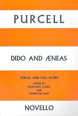 Purcell Dido And Aeneas Vocal/Full Score